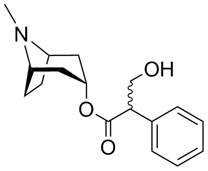 (RS)-(8-METHYL-8-AZABICYCLO[3.2.1]OCT-3-YL) 3-HYDROXY-2-PHENYLPROPANOATE